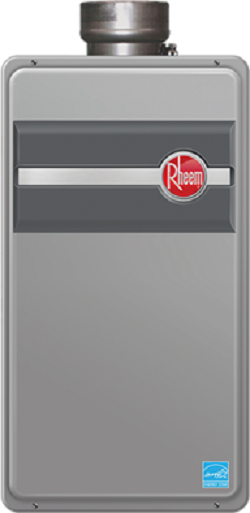 Rheem rtg 95dvlp direct vent indoor propane tankless water for Best propane heating systems